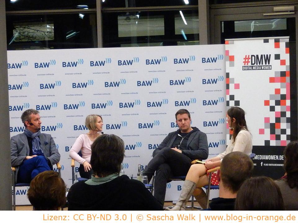 BAW Experten-Podium: Content im Web