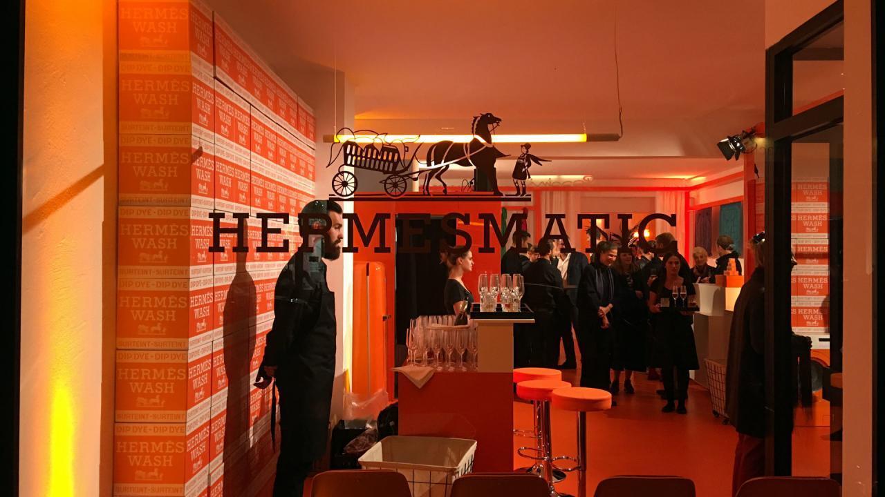 HermèsMatic - Außenansicht