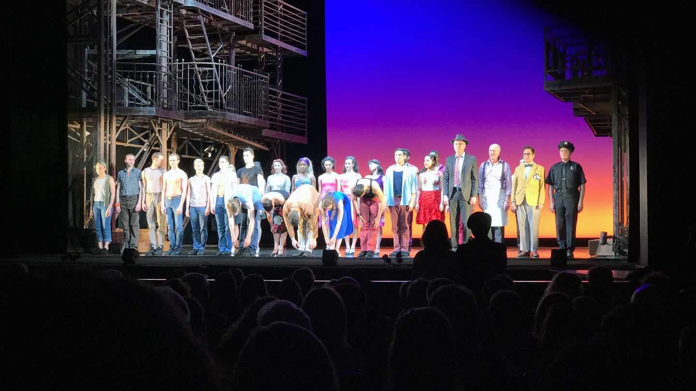 West Side Story - Deutsches Theater München - Gesamtes Ensemble
