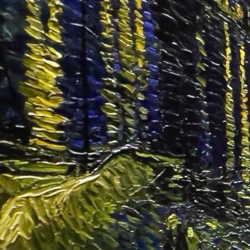 Van Gogh Alive - Detailaufnahme der Videoinstallation
